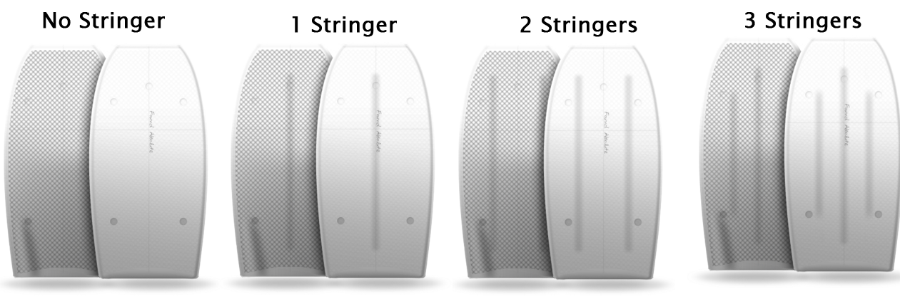 types of bodyboard stringers