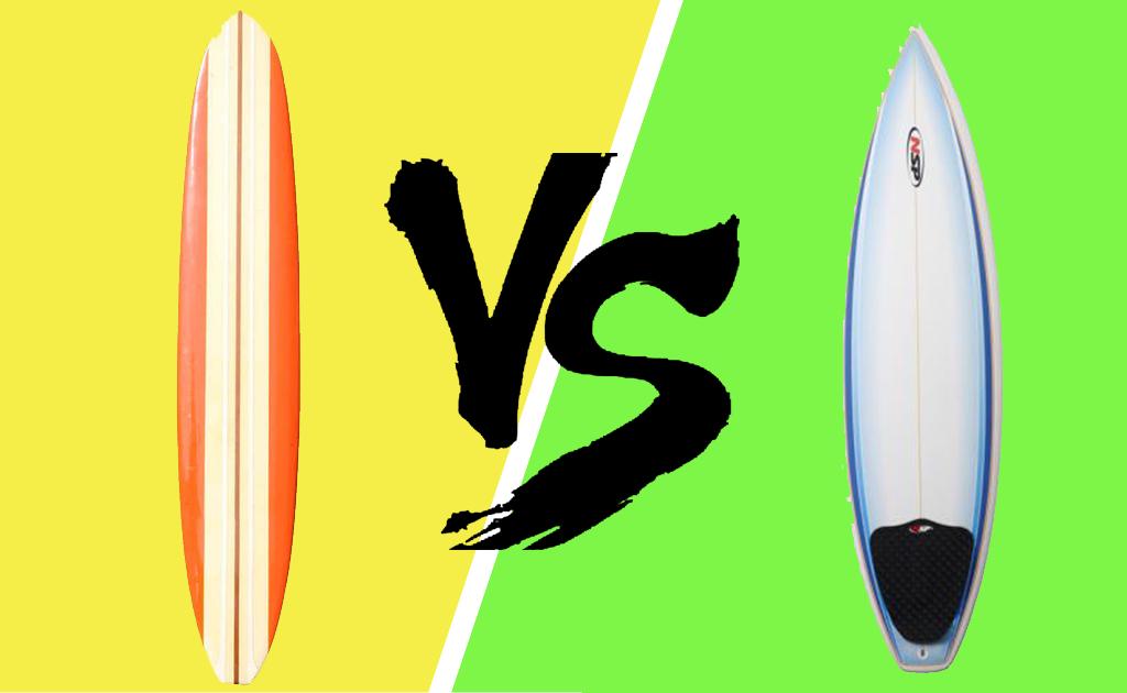 Longboard Vs Shortboard Surfing