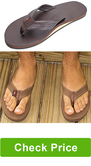 Rainbow Sandals Men's Premier Leather Single Layer