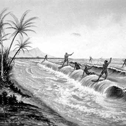 surfing history Hawaiian royalty