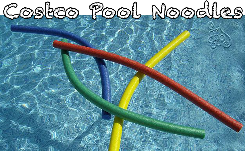 Pool Noodles at Costco!