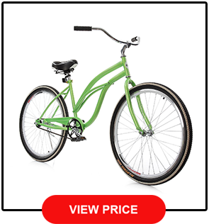 Ancheer Single speed Beach Cruiser Bicycle