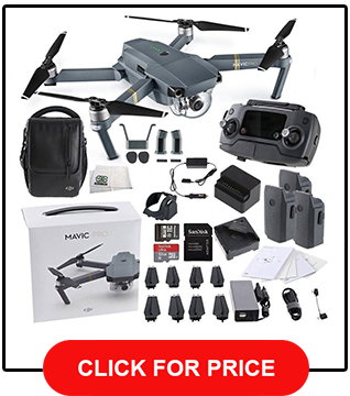DJI Mavic Pro FLY MORE COMBO Collapsible Quadcopter