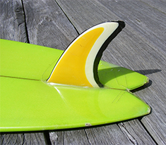 single fin surfboard