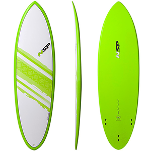 Hybrid Surfboard top view