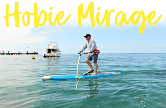 Stand Up Pedal Board Hobie Mirage Eclipse Review